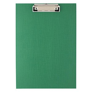 MELANICO LTD - D.RECT CLIPBOARD A4 PVC GREEN