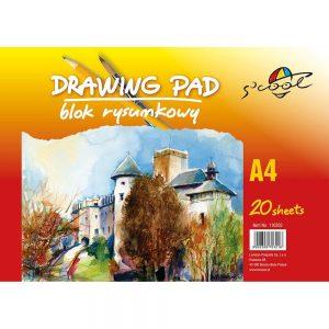 MELANICO LTD - drawing pad a4 20sh