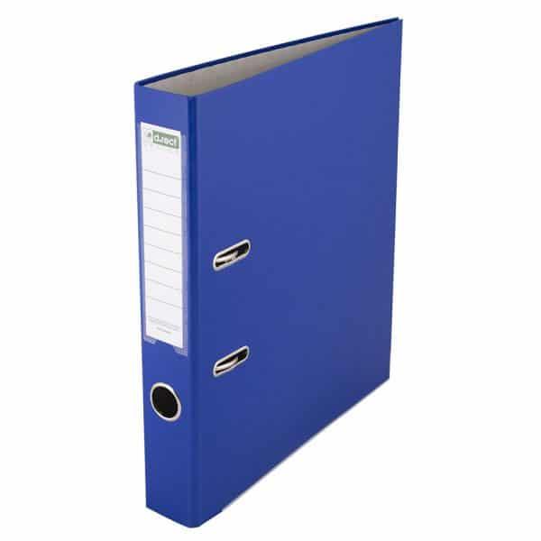 MELANICO LTD - box file pvc steno blue