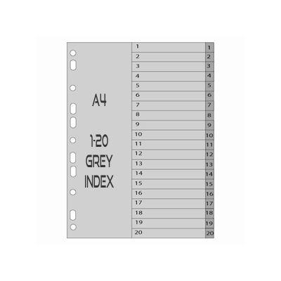 MELANICO LTD - PVC 1 20 Index Grey
